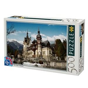 """D-Toys (63052-RM01) - """"Roumanie, Château de Peles"""" - 500 pièces"""