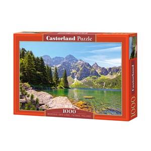 """Castorland (C-102235) - """"Lac Morskie Oko Tatras, Pologne"""" - 1000 pièces"""