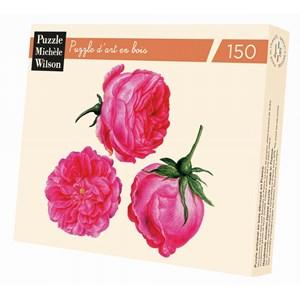 """Puzzle Michele Wilson (A179-150) - Francois-Joseph Redoute: """"Trois Roses"""" - 150 pièces"""