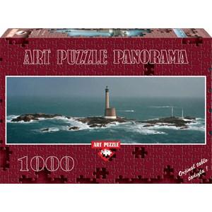 """Art Puzzle (4341) - Philip Plisson: """"Phare des Roches-Douvres"""" - 1000 pièces"""