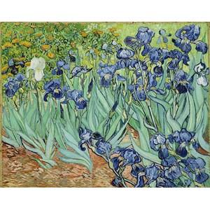 """Piatnik (5331) - Vincent van Gogh: """"Iris"""" - 1000 pièces"""