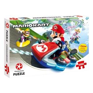 "Winning Moves Games (44815) - ""Super Mario, Mario Kart"" - 1000 pièces"