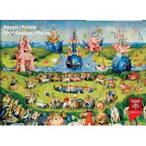 "PuzzelMan (765) - Hieronymus Bosch: ""Le Jardin des délices"" - 1000 pièces"