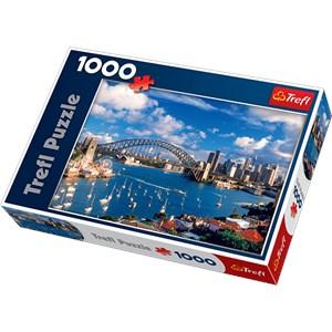 """Trefl (10206) - """"Port Jackson, Sydney"""" - 1000 pièces"""