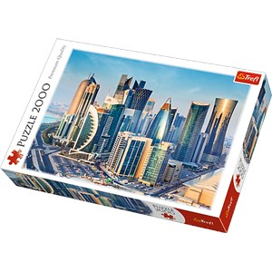 """Trefl (27084) - """"Doha, Qatar"""" - 2000 pièces"""