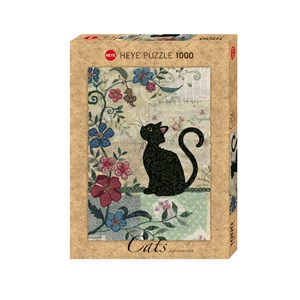 """Heye (29808) - Jane Crowther: """"Cat & Mouse"""" - 1000 pièces"""