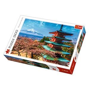 """Trefl (26132) - """"Mont Fuji"""" - 1500 pièces"""