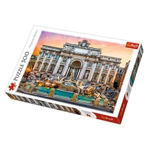 "Trefl (37292) - ""Fontanna di Trevi, Rome"" - 500 pièces"