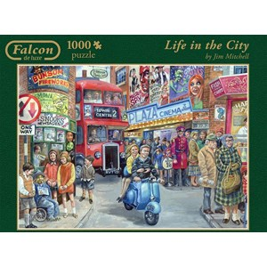 """Jumbo (11090) - Jim Mitchell: """"Life in the City"""" - 1000 pièces"""