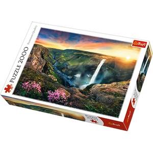"Trefl (27091) - ""Haifoss Waterfall, Iceland"" - 2000 pièces"