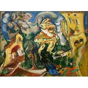 """Grafika (00451) - Chaim Soutine: """"Le Village, 1923"""" - 2000 pièces"""