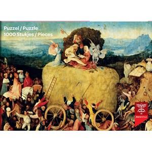 "PuzzelMan (766) - Jerome Bosch: ""Wheat Cart"" - 1000 pièces"