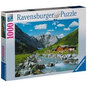 """Ravensburger (19216) - """"La montagne des Karwendel, Autriche"""" - 1000 pièces"""