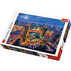 "Trefl (27094) - ""Lights of Dubai"" - 2000 pièces"