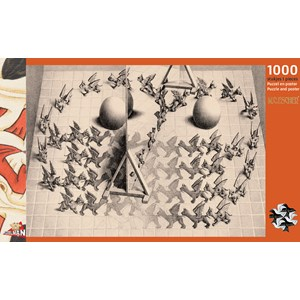 "PuzzelMan (833) - M. C. Escher: ""Magic Mirror"" - 1000 pièces"
