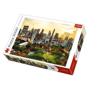 "Trefl (33060) - ""Coucher de Soleil à Bangkok"" - 3000 pièces"