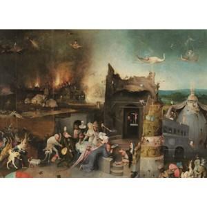 """PuzzelMan (768) - Jerome Bosch: """"Tentation de Saint-Antoine"""" - 1000 pièces"""