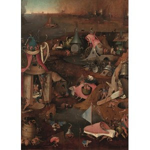 "PuzzelMan (767) - Hieronymus Bosch: ""The Last Judgment"" - 1000 pièces"