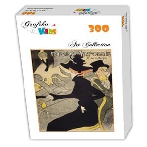 """Grafika Kids (00453) - Henri de Toulouse-Lautrec: """"Divan Japonais, 1892-1893"""" - 300 pièces"""