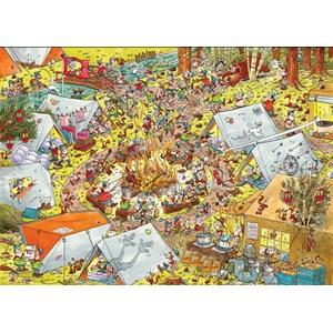 "PuzzelMan (791) - Rene Leisink: ""Scouting"" - 1000 pièces"