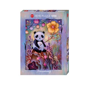 "Heye (29803) - Jeremiah Ketner: ""Panda Naps"" - 1000 pièces"