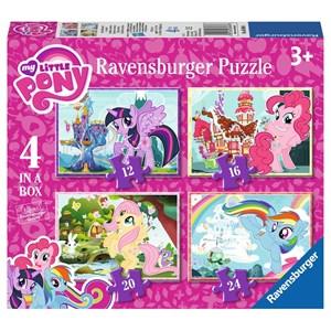 "Ravensburger (06896) - ""My Little Pony"" - 12 16 20 24 pièces"