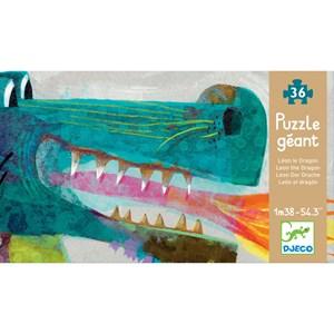"Djeco (07170) - ""Léon le dragon"" - 58 pièces"