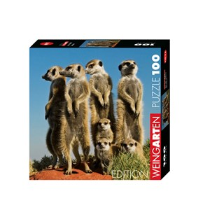 """Heye (29631) - Pete Oxford: """"Meerkats"""" - 100 pièces"""