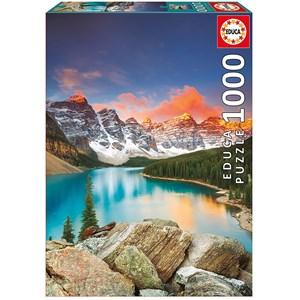 "Educa (17739) - ""Moraine Lake, Banff National Park, Canada"" - 1000 pièces"