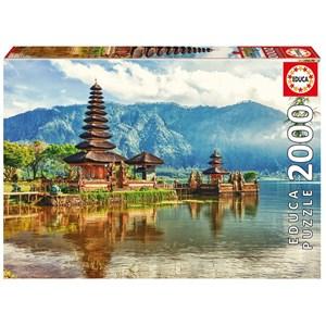 "Educa (17674) - ""Temple Ulun Danu, Bali, Indonésie"" - 2000 pièces"
