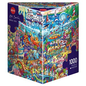 "Heye (29839) - Rita Berman: ""Magic Sea"" - 1000 pièces"