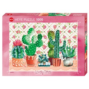 "Heye (29831) - Gabila Rissone: ""Cactus Family"" - 1000 pièces"