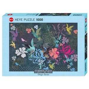 """Heye (29822) - Turnowsky: """"Birds & Flowers"""" - 1000 pièces"""