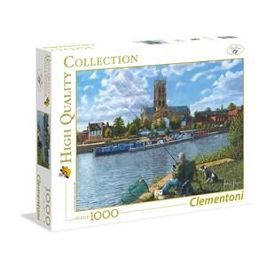 "Clementoni (39315) - Richard Harpum: ""Fishing With Oscar"" - 1000 pièces"