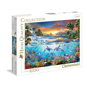"Clementoni (39335) - Christian Riese Lassen: ""Under The Sea"" - 1000 pièces"