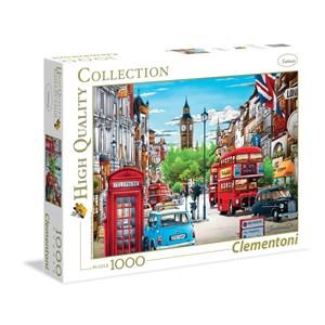 "Clementoni (39339) - Hiro Tanikawa: ""Londres"" - 1000 pièces"