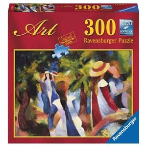 """Ravensburger (14024) - August Macke: """"Jeunes filles sous les arbres"""" - 300 pièces"""