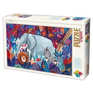 "D-Toys (75215) - Kurti Andrea: ""Tropical"" - 1000 pièces"