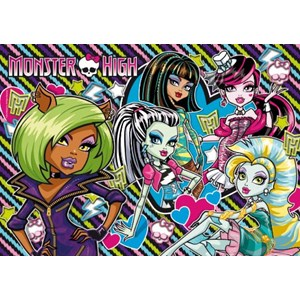 "Clementoni (27816) - ""Monster High, Girls"" - 104 pièces"