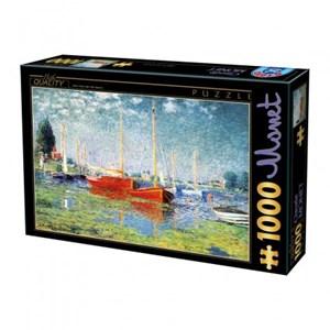 """D-Toys (67548-CM04) - Claude Monet: """"Argenteuil"""" - 1000 pièces"""