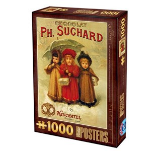 "D-Toys (67555-VP04) - ""Chocolats Philippe Suchard"" - 1000 pièces"