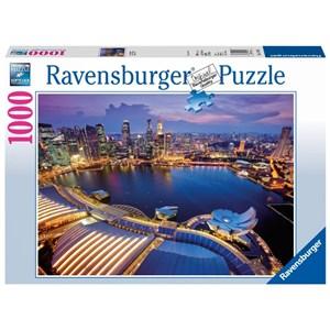 """Ravensburger (19141) - """"Singapore view"""" - 1000 pièces"""