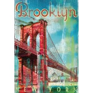 "Clementoni (37034) - Patrick Reid O'Brien: ""Brooklyn"" - 500 pièces"