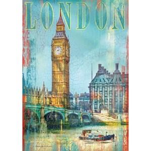 "Clementoni (37035) - Patrick Reid O'Brien: ""United Kingdom, London, Big Ben"" - 500 pièces"