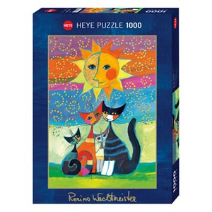 "Heye (29158) - Rosina Wachtmeister: ""Le Soleil"" - 1000 pièces"