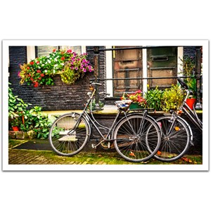 "Pintoo (H1572) - ""Pays-Bas, Amsterdam, Vélos"" - 1000 pièces"