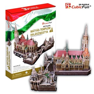 "Cubic Fun (MC128H) - ""Hungary, Matthias Church"" - 176 pièces"