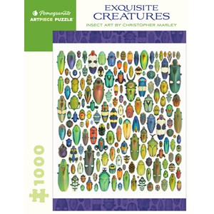 """Pomegranate (AA286) - Christopher Marley: """"Exquisite Creatures"""" - 1000 pièces"""
