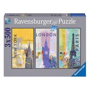"Ravensburger (16329) - ""Travel around the world"" - 500 pièces"