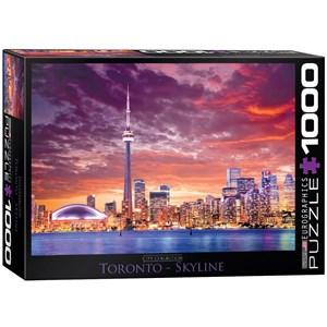 "Eurographics (6000-0738) - ""Toronto - Skyline"" - 1000 pièces"